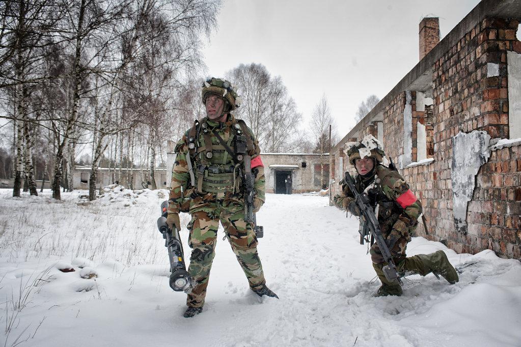 Bundeswehr - Gefechtsuebung